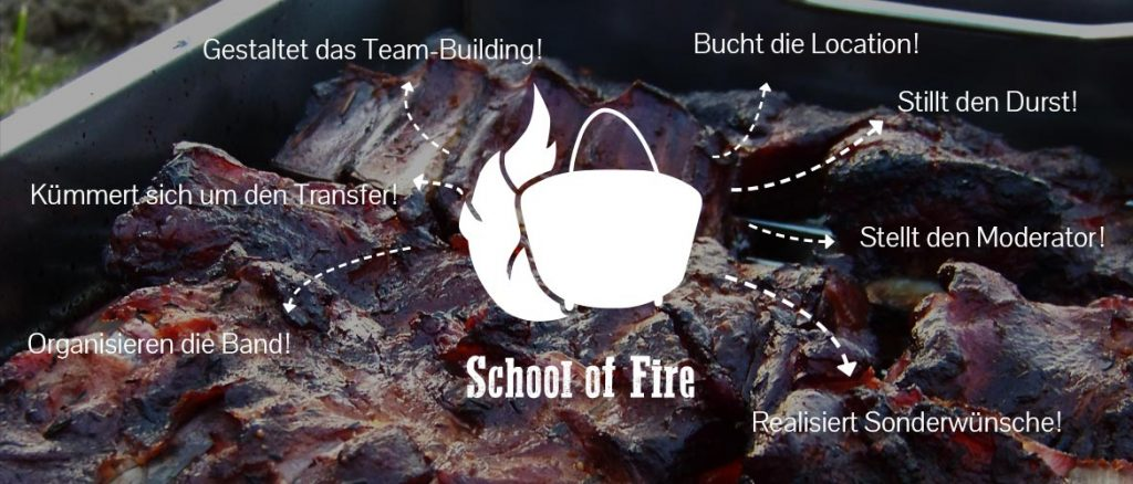 Eventplanung School of Fire