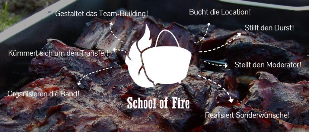 Eventplanung School of Fire